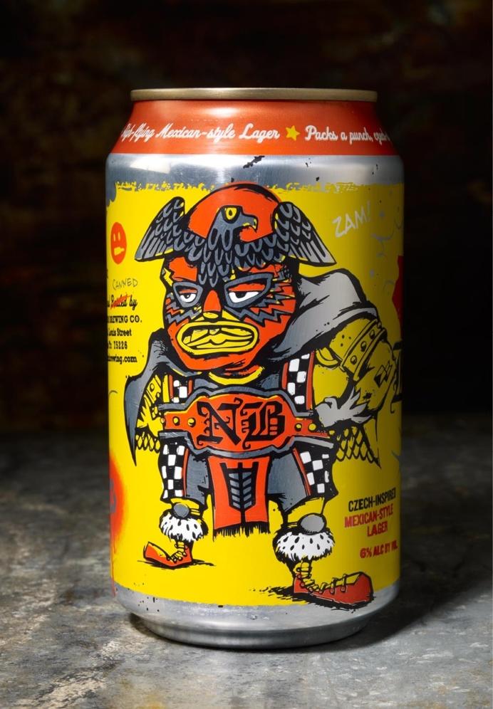 beer, box, package, wrestler, box, eagle