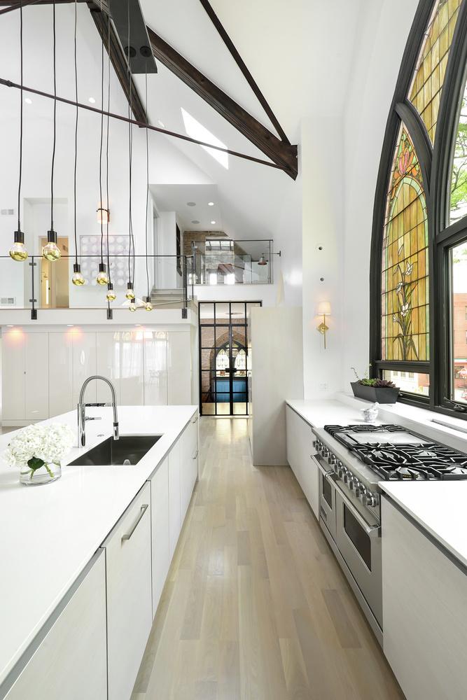 Church converted into a spacious family house