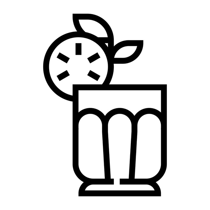 See more icon inspiration related to fresh, drink, breakfast, straw, fruit, refresh, food and restaurant, cucumber, water glass, refreshment, citrus fruit, healthy food, beverage, refreshing, juice and food on Flaticon.