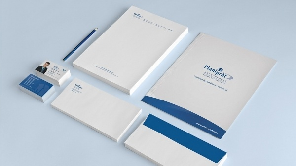 Planiprêt #business #card #print #corporate #envelope #stationery #letterhead