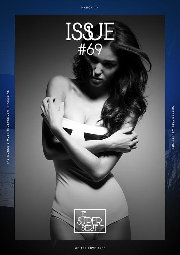 Le Super Serif free font #font #free #poster