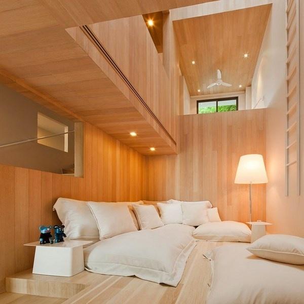 Living area interior of toy bears house #bears #toys #house #modern #teddy #art #bear