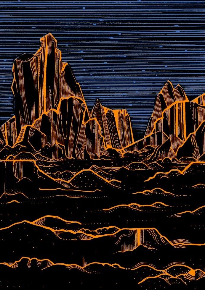Space - elenaboils illustration #elenabolis