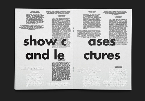Dark side of typography #editorial