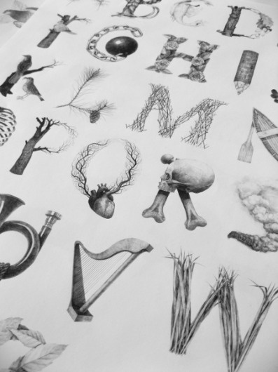 May on Typography Served #illustrated #konvica #by #jakub #type