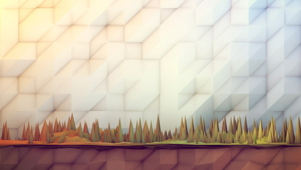 Low Poly [Non Isometric] on Behance #illustration #low #poly