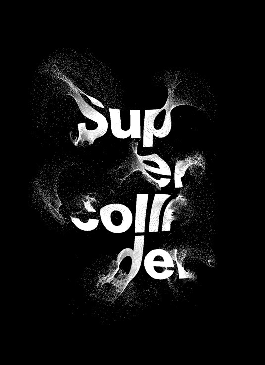 Graphic Design Trends | Creative Bloq #generative #white #black #particles #typography