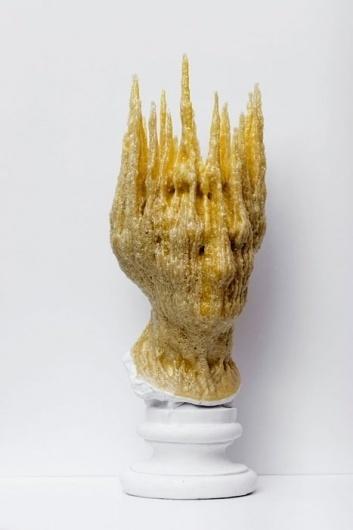 Nick van Woert #sculpture #classical #bust #gold #polyurethane
