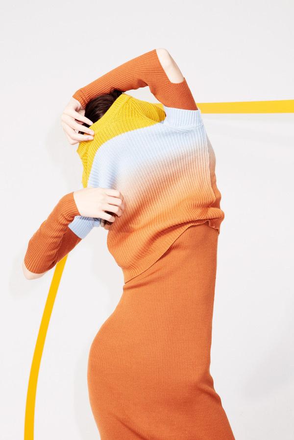 Sonia Rykiel - pre-fall 2014 #fashion #couture #design #color