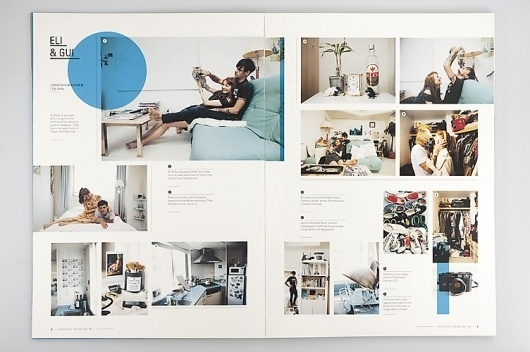 –Everyday Magazine : Mikael Fløysand #publication #grid #type #layout #everyday #magazine