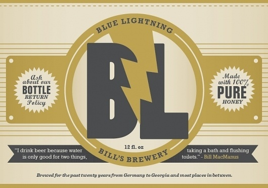 Bill's Brewery #bennie #wells #labels #beer