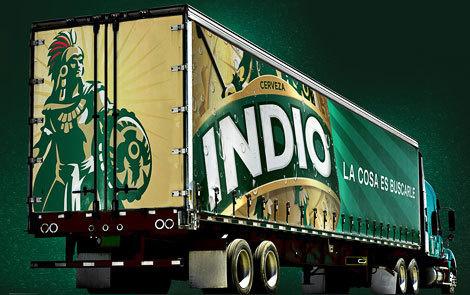 Indio Truck #packaging #beer #bottle
