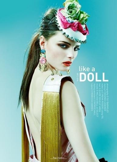 Like A Doll | Volt Café | by Volt Magazine #beauty #design #graphic #volt #jewellery #photography #art #fashion #layout #magazine #typography