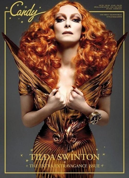 Candy #gold #tilda #golden #magazine