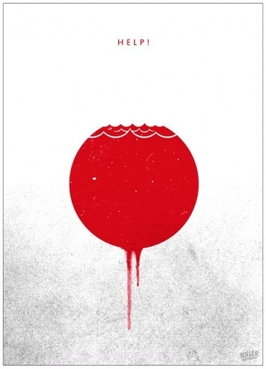 http://www.killerartworx.de/ #aid #design #graphic #screenprint #poster #japan