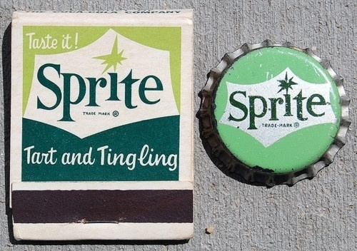 davidreno — Sprite, 1960's #packaging #vintage