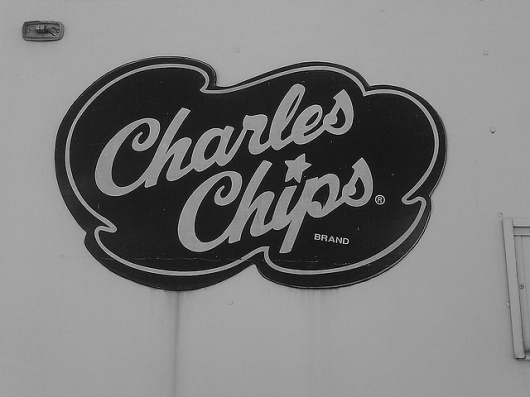 chips | Flickr - Photo Sharing! #script #sign #painted #type #hand #typography