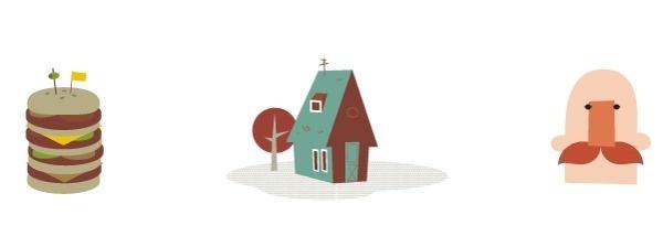 Simple is best #house #tree #illustrator #simple #tone