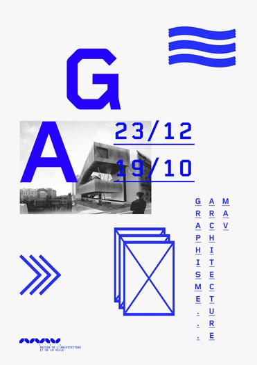 typographic ga 2k poster by matthieu salvaggio #matthieu #salvaggio