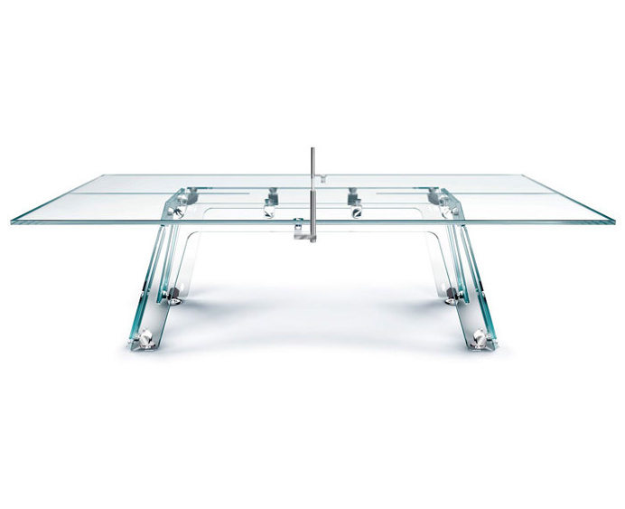 Ping-pong Table Made of Glass - #design, #productdesign, #industrialdesign, #objects, product design