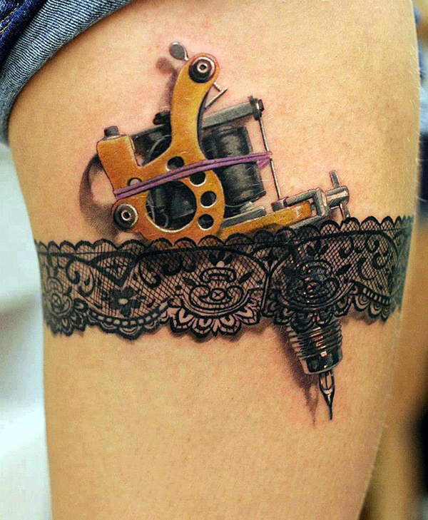 Best 3d Tattoo Designs 60 Amazing images on Designspiration