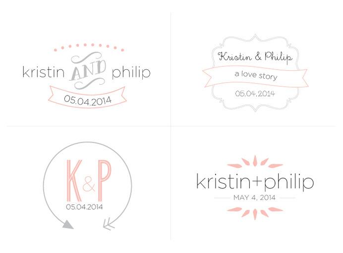 Wedding Logo Exploration #logo #design #wedding