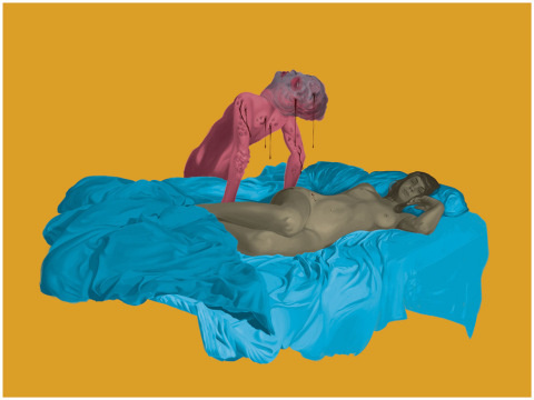 Randy Ortiz   PICDIT #illustration #design #color #art