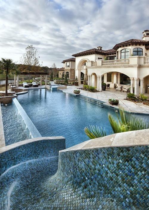 CJWHO ™ (Dallas Elegance by jauregui Architect This...) #design #pool #architecture #dallas #residence #luxury