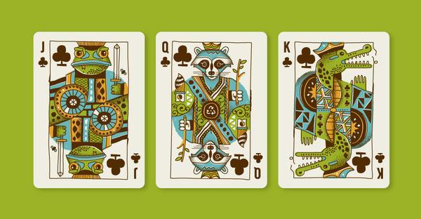 Animal Kingdom Jeffrey Bucholtz #bucholtz #jeffrey #royal #animals #suits #cards