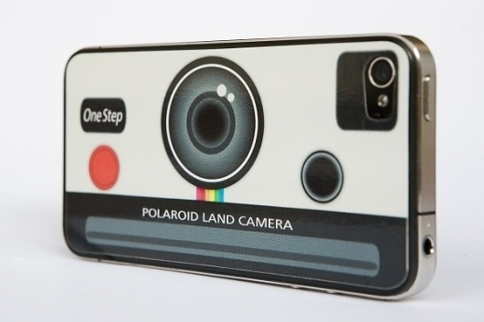 Polaroid iPhone Decal #iphone #polaroid