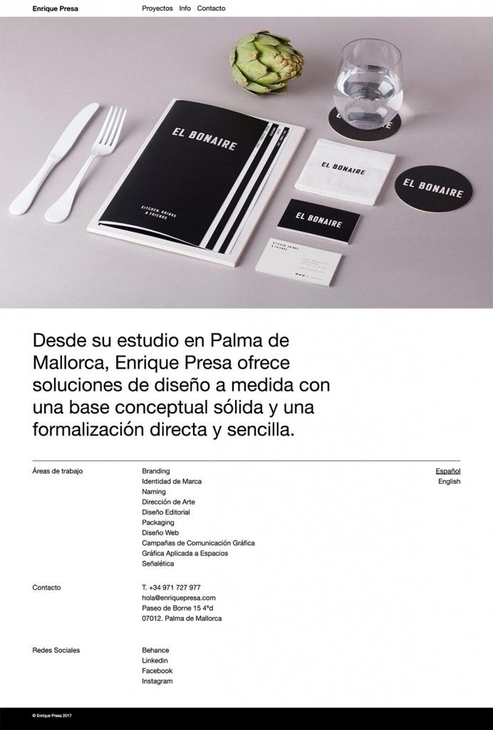 Enrique Presa - Mindsparkle Mag - Enrique Presa is an independent graphic designer and art director whose website is awarded as site of the