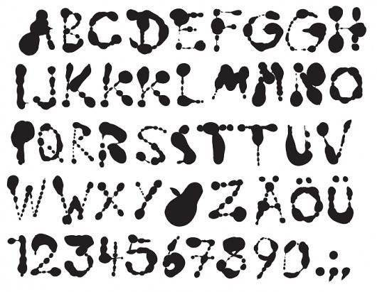 HelloMe — Troberg #type #ink #hand