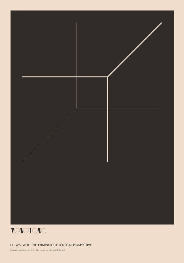 Monotono - The Absurdity of Form. Poster Study. on the Behance Network #poster