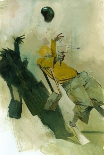 Ashley Wood | Artist #wood #illustration #painting #art #ashley