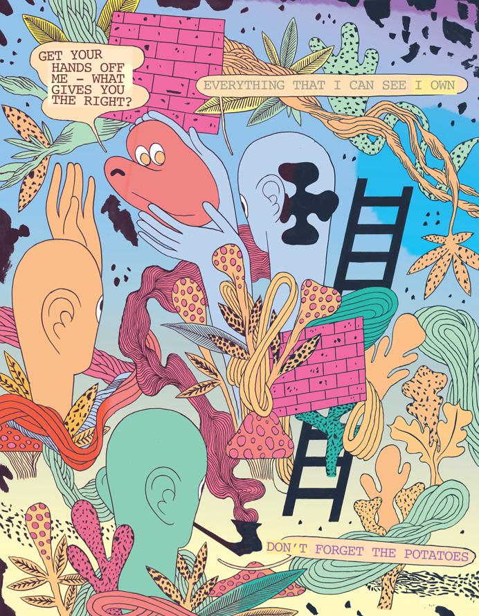Patrick Kyle #illustration #art #graphic #drawing #digital #psychedelic #surrealism