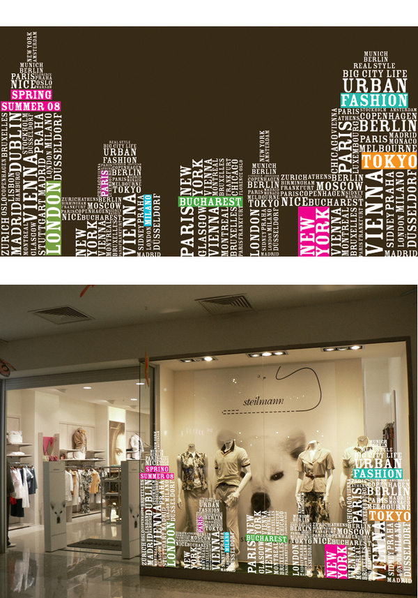 Shop Window Design Retail visual concept by Irina Bogdan at Coroflot.com #window #display #retail