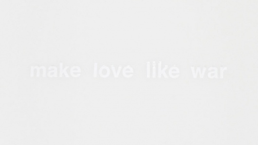 A Studio Visit with Christine Wu #make #war #like #helvetica #love #typography