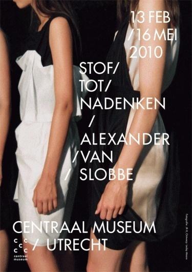LESLEY MOORE - PRESENT {ALEXANDER_VAN_SLOBBE} #type #poster