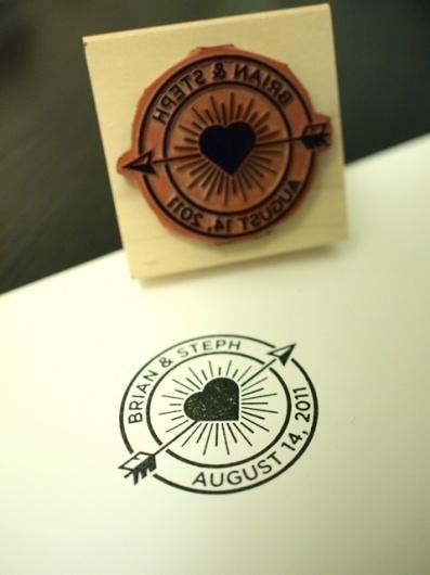 thequietsociety.com/blog | The Creative Work of Brian Hurst #wedding #stamp #design #graphic