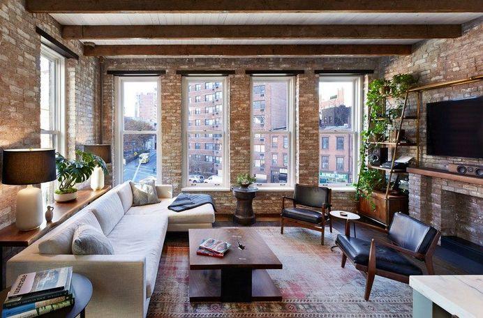 Interior Gut Renovation of a High-Ceiling Loft Space in Manhattan