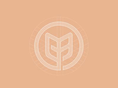 Nafoods logo grid construction #mark #logotype #circle #agency #logos #vietnam #branding #in #design #food #monogram #grid #brand #ho #symbol #chi #minh #logo #bratus