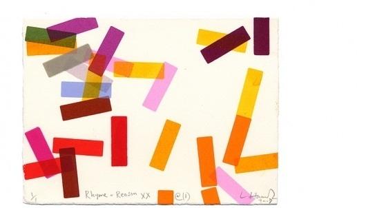 Lara Harwood : Rhyme & Reason #illustration #colour #geometric
