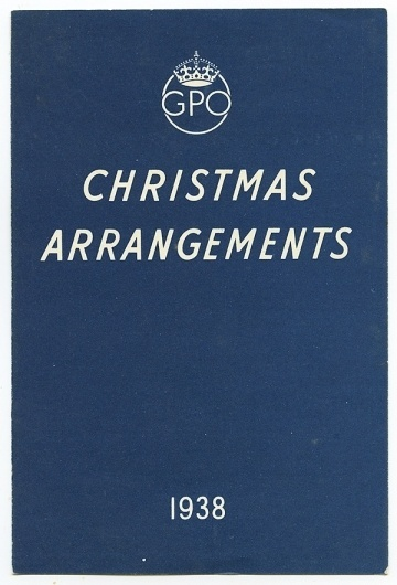 Wallace Henning - Notes #british #print #design #graphic #english #christmas #gpo #arrangements