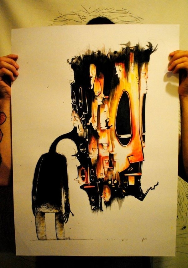 IDEAS DE OLEAJES... #illustration #design #character #art