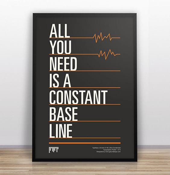 garyndesign_typejokes1 #quote #design #poster #type #framed