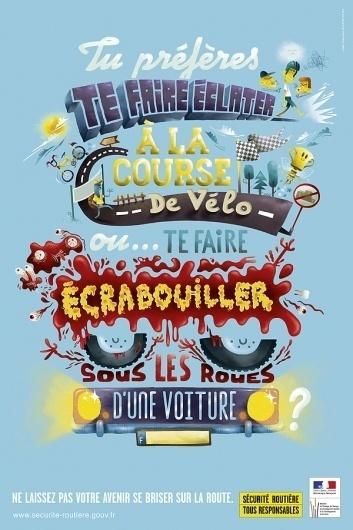 Sécurité Routière on Typography Served #illustration #typography