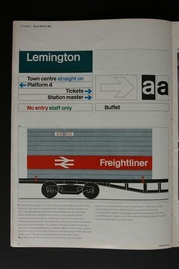 All sizes | Design - 1965 | Flickr - Photo Sharing! #british #branding #design #graphic #livery #identity #rail #signage #1965