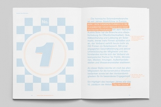 Magazine and Editorial Graphic Design Inspiration - MagSpreads: The Solar Annual Report #print #report #annual #typography