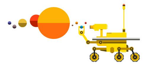 A ROVING MIND #illustration #robot