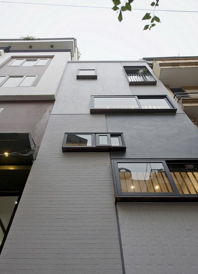 Urban House Block in Hanoi by Landmak Architecture 13